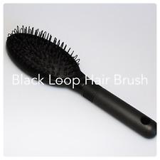 Black Hair Extensions Loop Hair Brush ~ Phoebe-s ~ Clearance