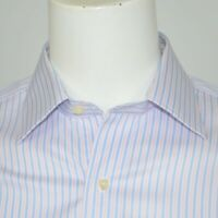 BROOKS BROTHERS Regent Slim Fit Non Iron Supima Cotton Dress Shirt Sz 15.5 - 33