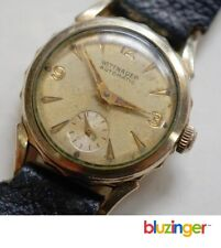 Vintage Wittnauer Automatic Wrist Watch 10K Gold Filled Sub Dial