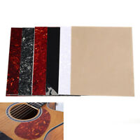 1Pc Battipenna per chitarra acustica battipenna foglio adesivo bianco—GR
