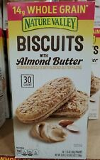 Nature Valley Biscuits with Almond Butter 30 ct 40.5 oz