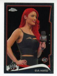 2014 Topps Chrome EVA MARIE Rare ROOKIE CARD RC #20 WWE DIVAS WRESTLING