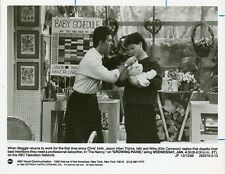 KIRK CAMERON ALAN THICKE AND BABY GROWING PAINS ORIGINAL 1988 ABC TV PHOTO