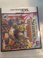 Shrek''s Carnival Craze NDS Nintendo DS Brand New Factory Sealed