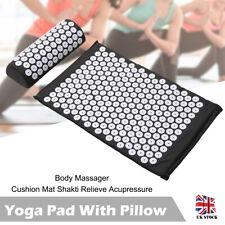 Massage Acupressure Mat Yoga Shakti Sit Lying Mats Pain Release Relief Stress UK