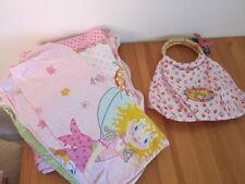2 tlg Kinderbettwäsche Prinzessin Lillifee Spiegelburg Tasche Reh Bettwäsche