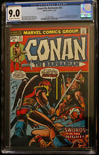 1973 Marvel Conan The Barbarian #23 CGC 9.0 Off White to White Pages