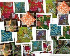 Wholesale Lot 20 Pcs Cotton Handmade Kantha Pillow Cushion Cover Assorted Pc 16""