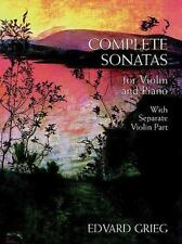 Complete Sonatas for Violin and Piano: With Separate Violin Part (Chamber Music