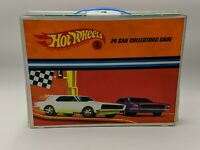 C22 Vintage Mattel Hot Wheels Redline Era 24 Car Vinyl Collectors Case