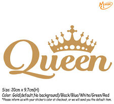 QUEEN  Funny Reflective Car Truck  Stickers Decal Best Gift-