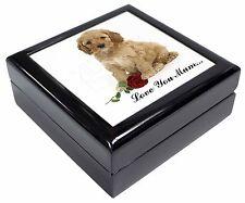 Cockerpoodle+Rose 'Love You Mum' Keepsake/Jewellery Box Christmas , AD-CP6RlymJB
