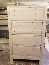 slightly distressed bespoke kitchen drawers