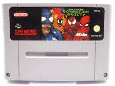 SNES Spiel - Venom / Spider Man : Separation Anxiety (Modul) (PAL)
