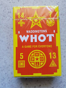 WADDINGTONS 'WHOT' WHOT Card Game NEW a game for everyone kids favourite sealed