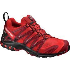 Zapatillas de deporte rojos de goma