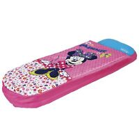 MINNIE MOUSE JUNIOR READY BED NEW SLEEPING BAG INFLATABLE