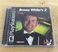 Jimmy White's 2: Cue Ball (Sony PlayStation 1, 2000) Complete Tested Rare Game