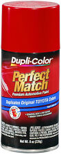Dupli-Color BTY1560 Super Red II Toyota  Auto Paint 8oz FREE SHIPPING