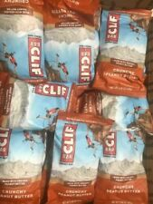 68 CLIF CRUNCHY PEANUT BUTTER  HEALTH  /  NUTRITION BARS NO RESERVE ORGANIC