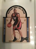 2003-04 Upper Deck SE DIE-CUT RC FUTURE ALL-STAR BLACK 13/25 ~ Dwyane Wade
