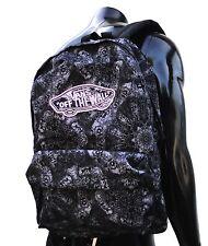 Vans Realm Kaleidoscope black unisex womens backpack School bag