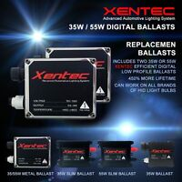 Two Xentec Xenon 35W 55W HID Kit 's Replacement Digital Ballasts H4 H11 H13 9006