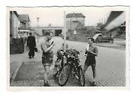 Foto, MTV Braunschweig, Radtour, 1956