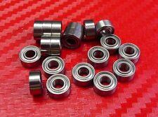 "10pc R2-5ZZ (1/8"" x 5/16"" x 9/64"") Metric Shielded Ball Bearing Bearings R2-5z"