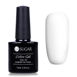 UR SUGAR 7.5ml Base Gel No Wipe Top Coat Color Gel Nail Polish Soak Off Varnish