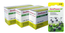 zenipower a10 Hearing Aid Batteries - 180 count Super Fresh Expire 2020