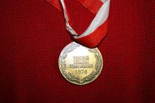 Siegermedaille 1978 vom Turngau Zollern Schalksburg