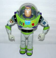 DISNEY THINKWAY TOYS BUZZ LIGHTYEAR GREEN STAR ON BACK WRIST COVER FLIPS OPEN