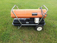 Dayton Oil Fired Portable Jobsite Heater 110,000 Btu - 120V Pick-Up Only