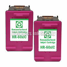 2 Color HP 60XL ink cartridge for HP ENVY 100 (D410) / 110 (D411) / 114 (D411)