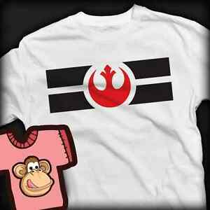 Star Wars Rebel Alliance T-shirt - Ladies and Gents Many Colours - XS - XXXL.