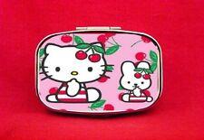 HELLO CHERRY KITTY CAT BUNNY METAL PILL MINT BOX CASE