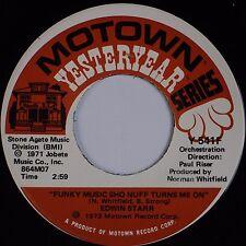 EDWIN STARR: Funky Music Sho Nuff Turns Me On USA MOTOWN Funk Soul 45 NM