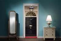 Door Mural No 10 Downing street View Wall Stickers Decal Wallpaper 208