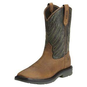 Ariat Mens Maverick Soft Toe Work Western Boots 10014228