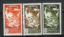 GUINEA  edifil # 306/308 ** MNH Set. Fauna / animals
