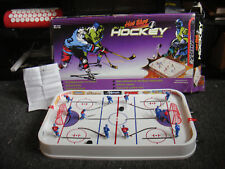 Vintage Hot Shot Hockey Game - Table Top - Complete - Canada v U.S.A. 3D Players