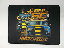 Shelby American 50th Anniverary Mouse Mat (1962-2012) ORIGINAL SHELBY BASH!
