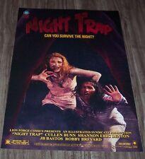 Night Trap Horror Movie Comics Art Poster Print NYCC 2016 Comic Con Exclusive