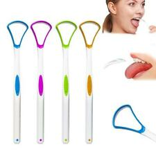 Plastic Tongue Cleaner Scraper Tounge-Dental Care Hygiene Oral Mouth 17.5*3 G3Z2