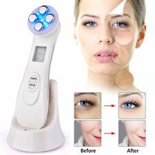 ✅5 In1 RF & EMS Radio Mesotherapy Electroporation LED Skin Rejuvenation Massager