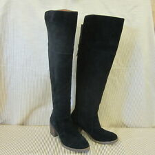 NWOB LUCKY BRAND OVER-THE-KNEE LEATHER BOOTS WOMEN'S RAYLA SIZE 8 M