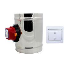 220v HVAC absperrklappe drosselklappe lüftung lüftungsklappe elektrisch 51-400mm