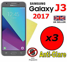 3x HQ MATTE ANTI GLARE SCREEN PROTECTOR COVER FILM GUARD SAMSUNG GALAXY J3 2017