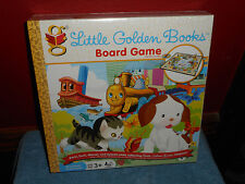 LITTLE GOLDEN BOOKS BOARD GAME JEU DE SOCIETE PRESCHOOL 3+ LEARNING GAME NEW